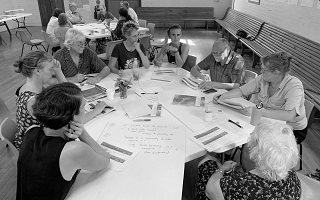 Community-led disaster resilience plans